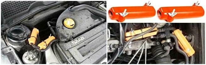 SAAB. Reducir el consumo de combustible saab